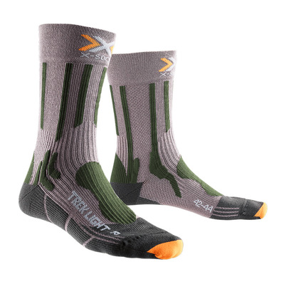 XSOCKS - X Socks TREKKING LIGHT - Socks - anthracite/green
