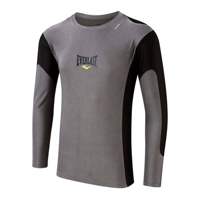 EVERLAST - CONTRAST 2 - Rashguard - Men's - grey/black