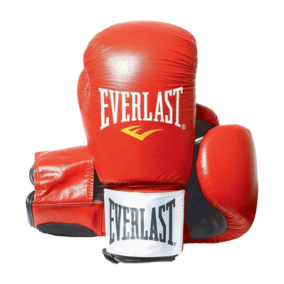 EVERLAST - FIGHTER - Boxing gloves - red/black