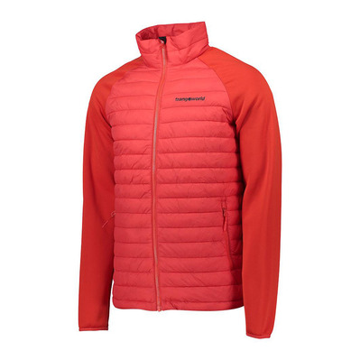 TRANGOWORLD - PANKE - Anorak híbrido hombre high risk red/fiery red