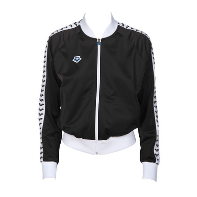 ARENA - RELAX IV TEAM - Sweat Femme black/white/black