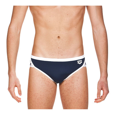 ARENA - M TEAM STRIPE BRIEF Homme NAVY-WHITE