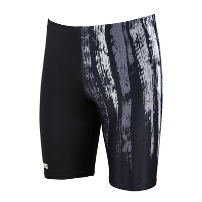 ARENA - TEAM PAINTED STRIPES - Jammer Homme black/multi grey