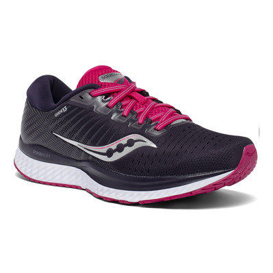 SAUCONY - GUIDE 13 - Chaussures running Femme dusk/berry