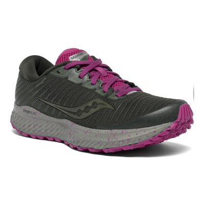 SAUCONY - GUIDE 13 TR - Chaussures trail Femme pine/fuchsia
