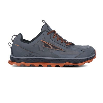 ALTRA - LONE PEAK 4.5 - Trail Shoes - Men's - grey/orange