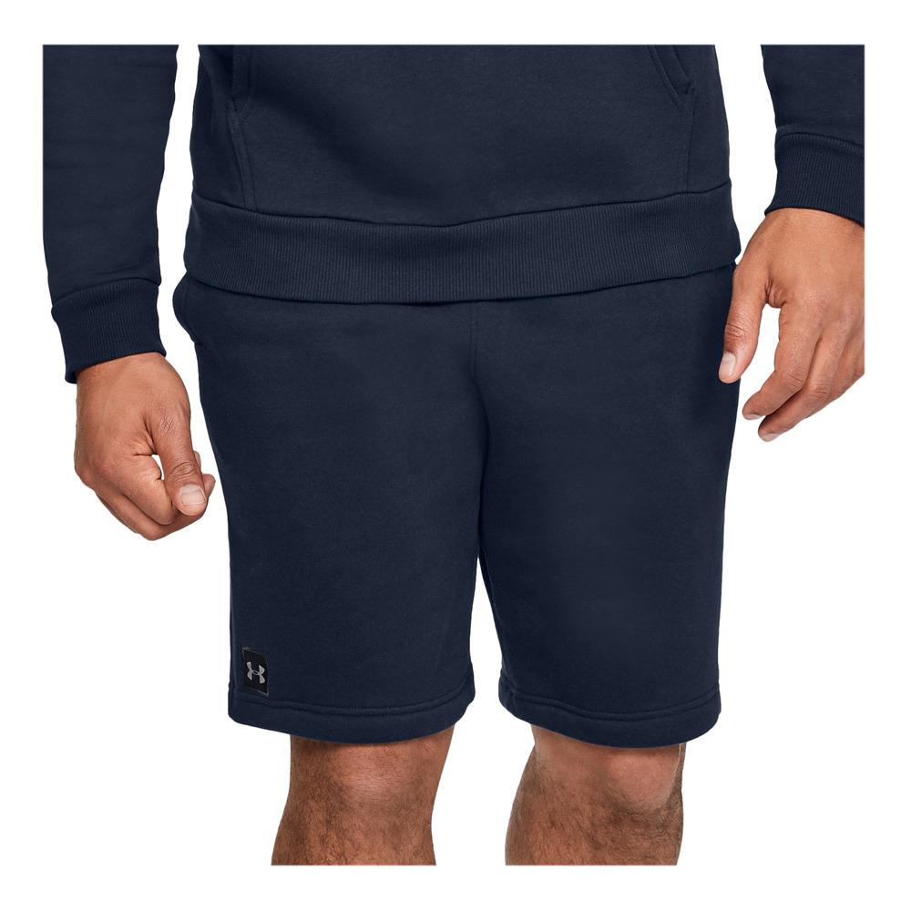 tolerancia Cierto Sin aliento  TRAINING SPECIAL Under Armour RIVAL FLEECE - Shorts - Men's - navy -  Private Sport Shop