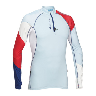RAIDLIGHT - PERFORMER LS TOP Homme LIGHT BLUE WHITE