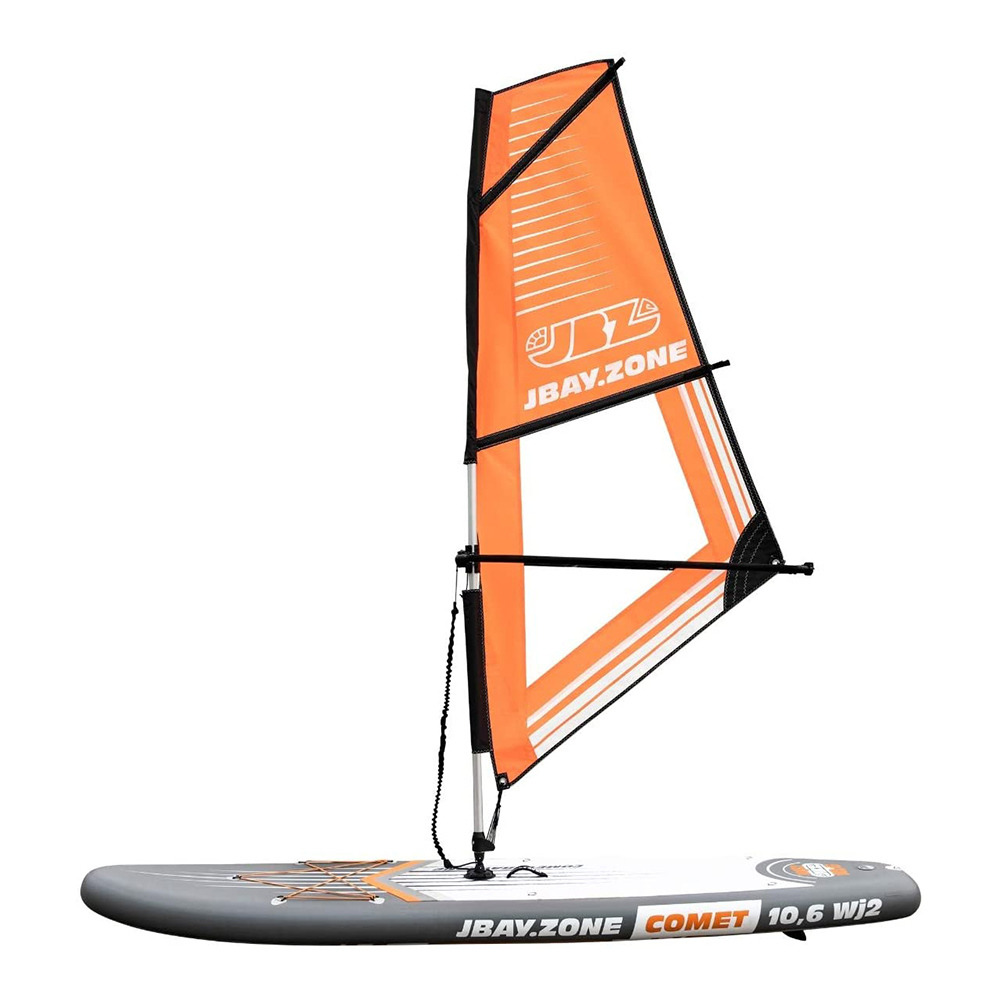 Jbay Zone Jbay Zone Windsup 10 6 Stand Up Paddle Gonflable Orange White Grey Voile Jsail Accessoires Private Sport Shop