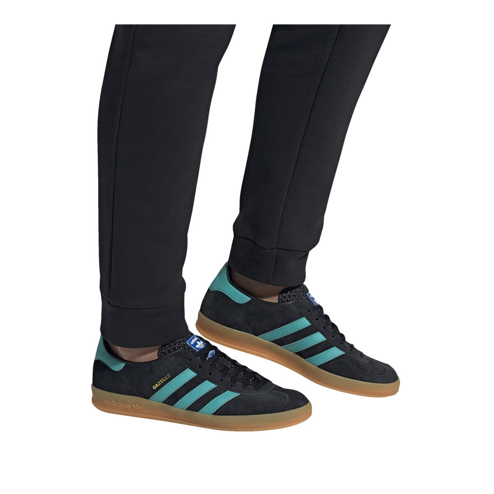 adidas gazelle indoor calzado azul