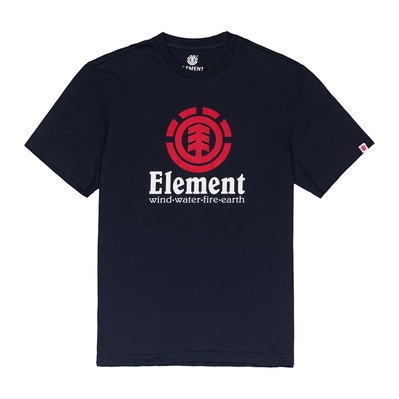 ELEMENT - VERTICAL - Camiseta hombre eclipse navy