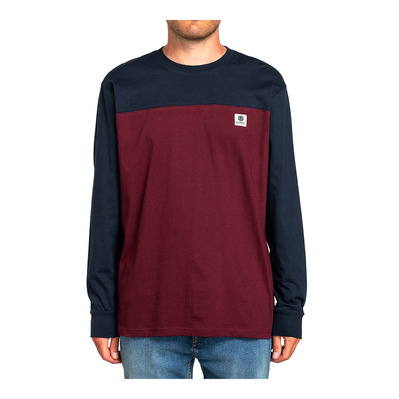 ELEMENT - BASIC BASEBALL LS Homme ECLIPSE NAVY