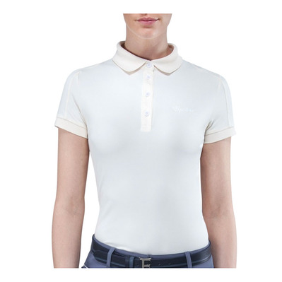 EQUILINE - EDWIGE - Polo Donna alyssum