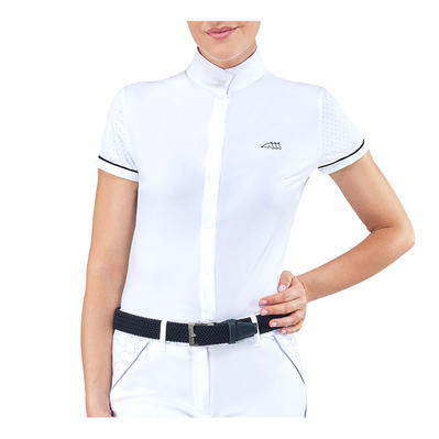 EQUILINE - CRESIDA - Chemise de concours Femme white