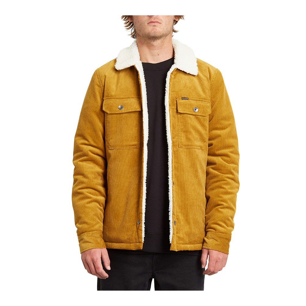VOLCOM - KEATON JACKET Homme GOLDEN BROWN