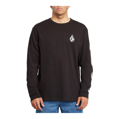 VOLCOM - DEADLY STONE RLX - T-Shirt - Men's - black