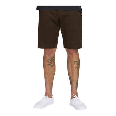 "VOLCOM - FRICKIN MODERN STRETCH 21"" - Bermuda Uomo dark chocolate"