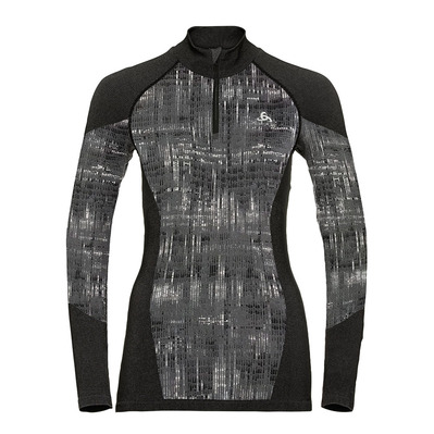 ODLO - BLACKCOMB - Felpa Donna black
