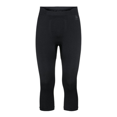 ODLO - BL Bottom 3/4 PERFORMANCE WARM ECO Homme black - new odlo graphite grey