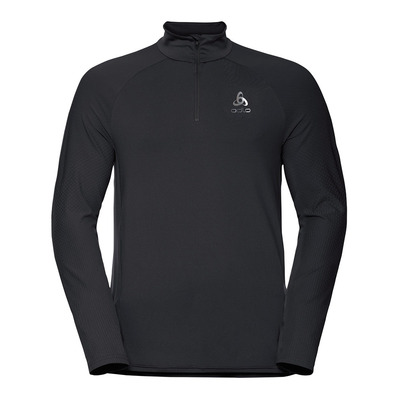 ODLO - Midlayer 1/2 zip ZEROWEIGHT CERAMIWARM Homme black