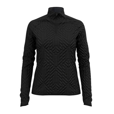 ODLO - CORVIGLIA KINSHIP FULL - Sweat Femme black