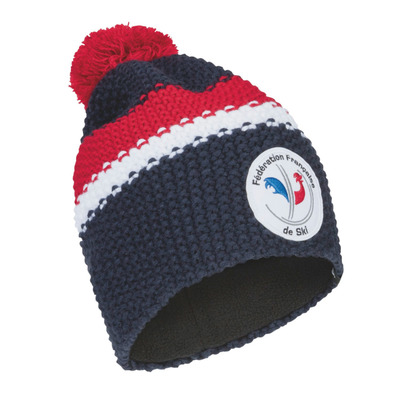ODLO - CHUNKY KNIT FRANCE - Gorro diving navy/formula one/replica