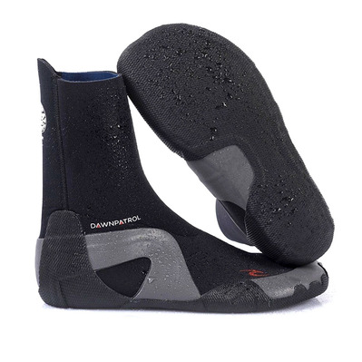 RIP CURL - DAWN PATROL ROUND TOE - Chaussons néoprène 5mm black