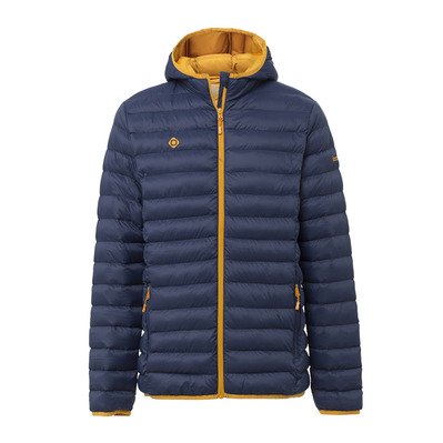 IZAS - GABES - Down Jacket - Men's - bluemoon/gold honey