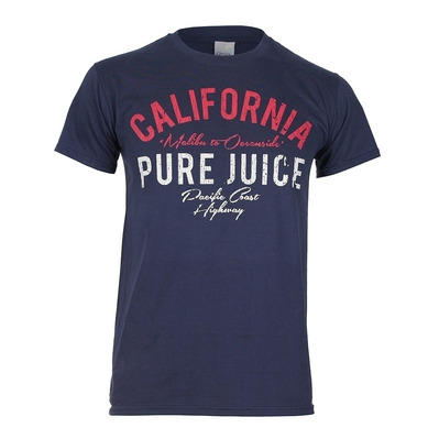 PURE JUICE - CALIFORNIA - Tee-shirt Homme navy