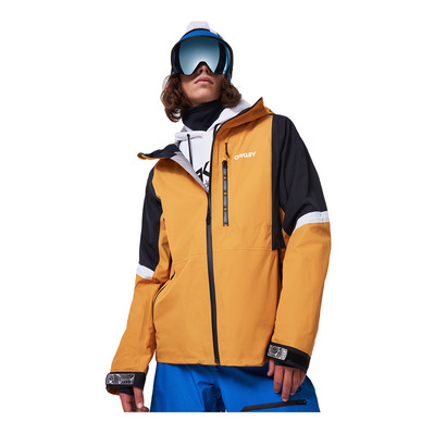 OAKLEY - TC GUNN SHELL - Veste ski Homme gold yellow