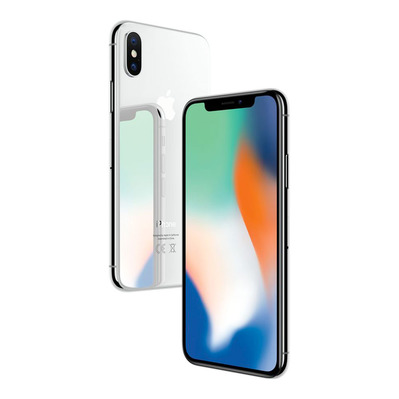 APPLE - - iPhone X 256GB - silver - Grade A+