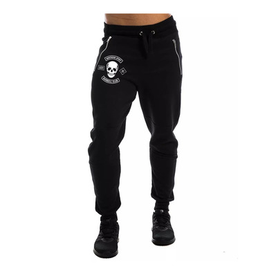 NORTHERN SPIRIT - SMALL BARBELL CLUB - Pantalón de chándal hombre black