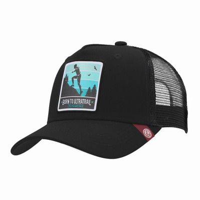 THE INDIAN FACE - BORN TO ULTRATRAIL - Gorra black