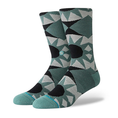 STANCE - FOUNDATION LENS - Chaussettes Homme seagreen