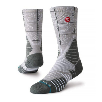STANCE - BASKETBALL HEAT CHECK USA - Chaussettes Homme grey