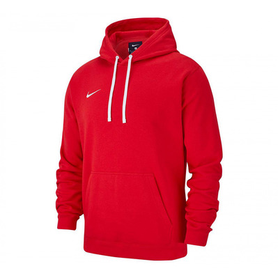 NIKE - HOODIE PO FLC TM CLUB19 - Sweat Homme red/white