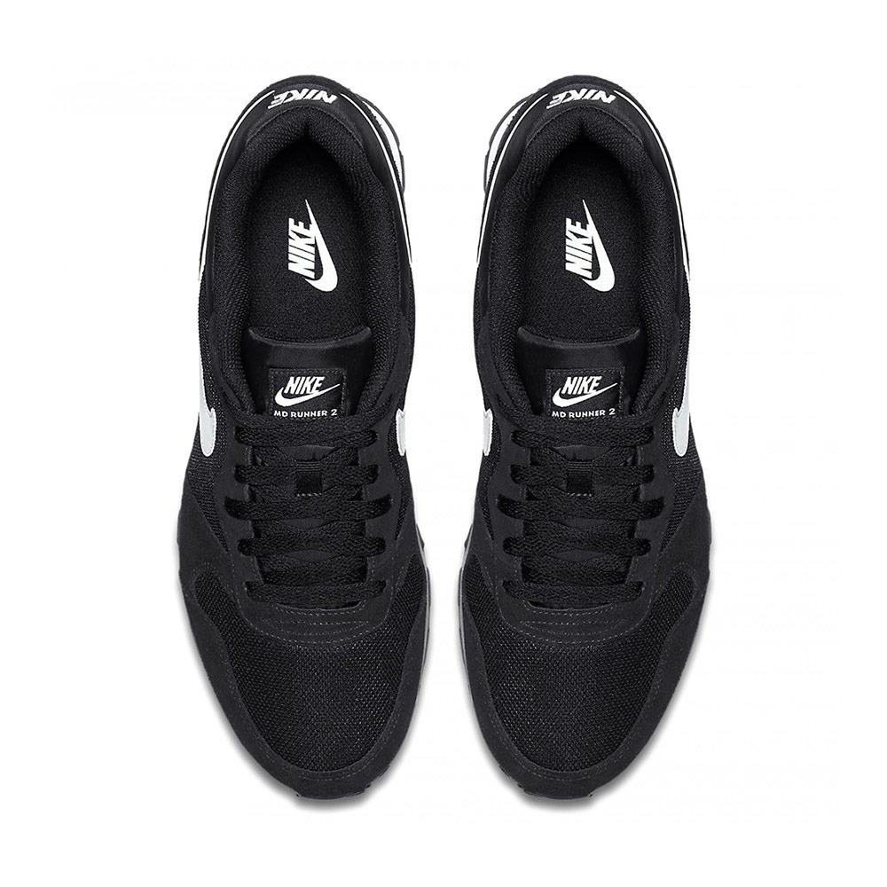 fábrica prometedor invadir  NIKE Nike MD RUNNER 2 - Zapatillas hombre black/white - Private Sport Shop