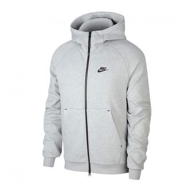 NIKE - NSW PE FZ WINTER - Sweat Homme grey