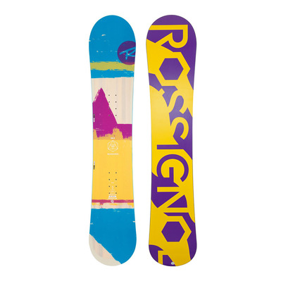 rossignol - GALA - All Mountain/ Freeride Snowboard - Women's - yellow/violet