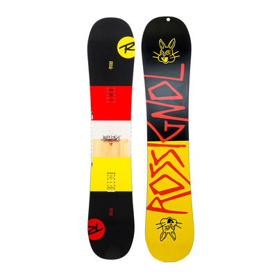 rossignol - JIBFLUENCE - All Mountain/Freestyle Snowboard - yellow/black