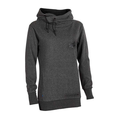 SALMING - FUNNEL - Sudadera mujer anthracite