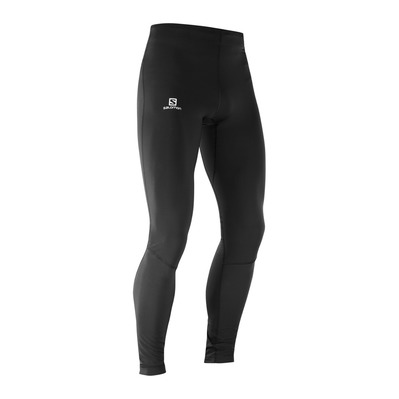 SALOMON - AGILE WARM - Leggings - Men's - black