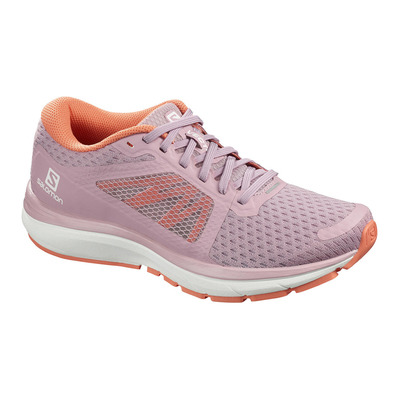SALOMON - VECTUR - Scarpe da running Donna mauve shadows/white/camellia