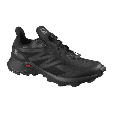 SALOMON - SUPERCROSS BLAST GTX - Trail Shoes - Men's - black/black/black