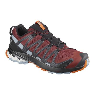SALOMON - XA PRO 3D V8 - Hiking Shoes - Men's - madder/ebony/quarry