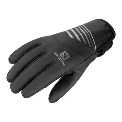 SALOMON - RS WARM - Guantes black/black/charco