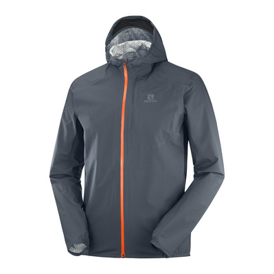 SALOMON - BONATTI WP - Jacket - Men's - ebony