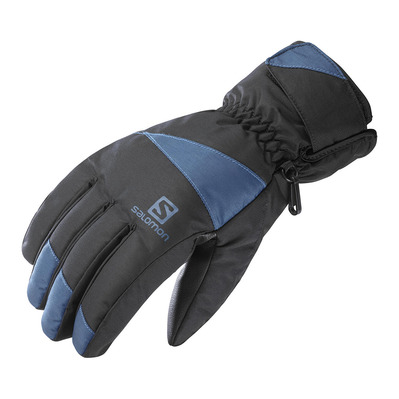 SALOMON - FORCE - Gants Homme black/dark denim