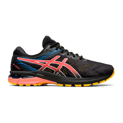 ASICS - GT-2000 8 TRAIL - Chaussures trail Homme black/sunrise red