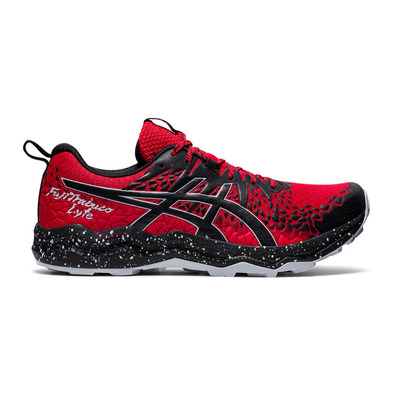 ASICS - FUJITRABUCO LYTE - Chaussures trail Homme classic red/black